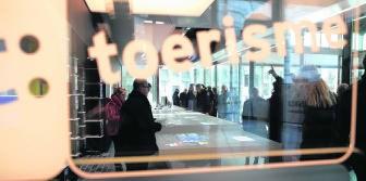 De dienst Toerisme wil dat Gent nog groeit. Vorige maand werd nog een nieuw infokantoor geopend in de Oude Vismijn. fvv