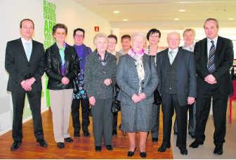 De familie van Rosa Vanbrabant is trots op de MS-leerstoel in Hasselt, die naar haar is genoemd. rgg
