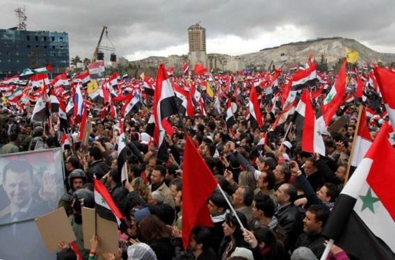 Gevechten in Damascus
