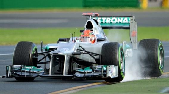 Michael Schumacher snelste in tweede vrije oefensessie GP van Australië