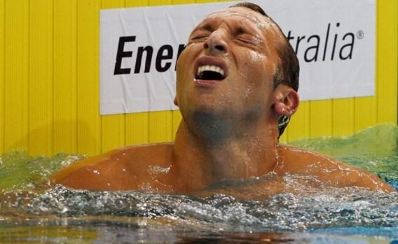 Ian Thorpe grijpt naast olympisch ticket op 200 meter vrije slag
