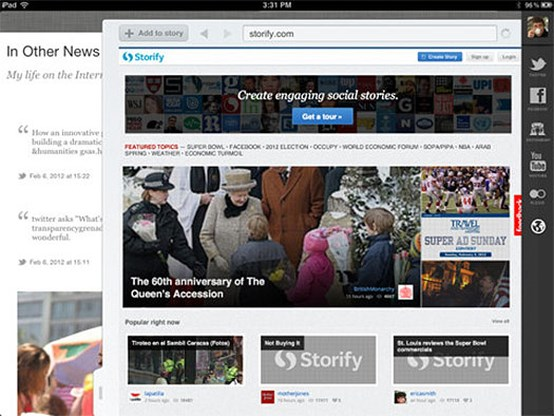 Storify: sociale verhalen vertellen met je iPad