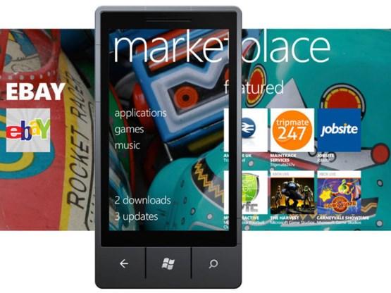 Windows Phone Marketplace heeft 70.000 apps