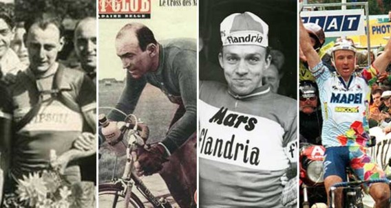 OVERZICHT. De 16 renners die de Ronde van Vlaanderen meer dan één keer wonnen
