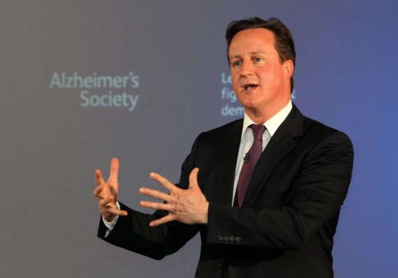 Britse premier geeft etentjes met partijsponsors toe