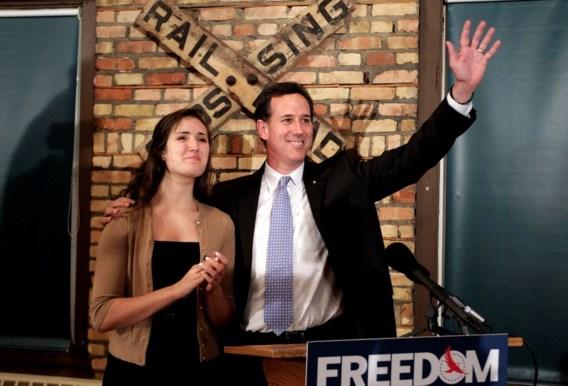 Santorum: 'Romney kan niet tellen'