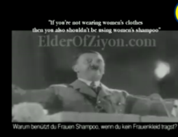 VIDEO. Hitler in omstreden reclamefilmpje