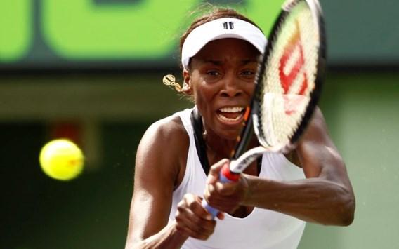 Venus Williams ondanks 70 unforced errors naar achtste finales
