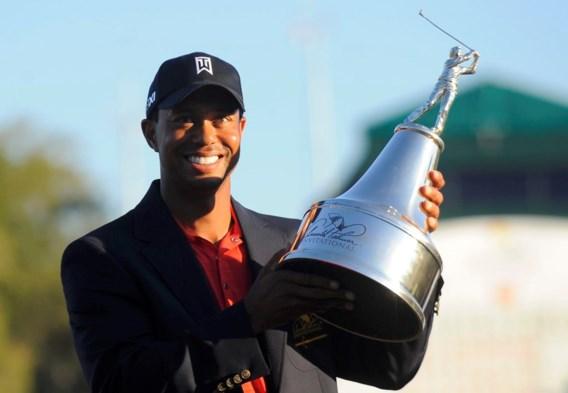Tiger Woods boekt eerste toernooizege sinds 2009