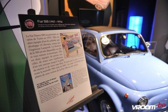 Stripverhalen in de kijker bij Fiat in Parijs