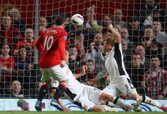 Manchester United slaat kloofje na winst tegen Fulham