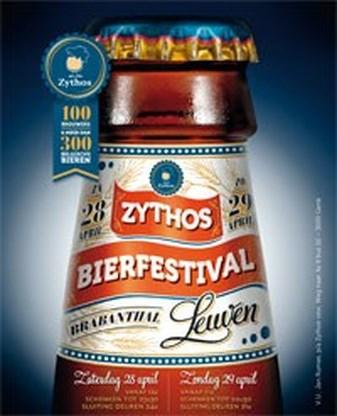 Bierfestival Zythos op 28 en 29 april in Leuven