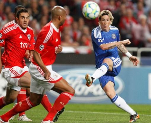 Chelsea wint, Benfica vergeet te scoren