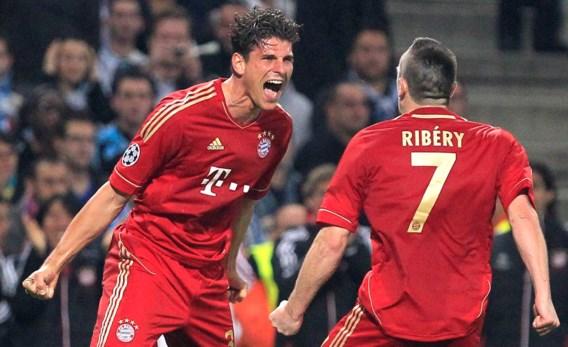 Topschutter Mario Gomez blijft tot 2016 bij Bayern München