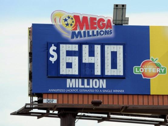Drie winnaars voor 640 miljoen dollar in Amerikaanse lotto