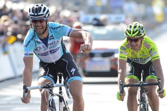 Tom Boonen wint hectische Ronde van Vlaanderen en schrijft geschiedenis
