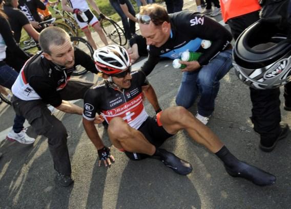 Cancellara's pechjaar kent triest dieptepunt in Ronde van Vlaanderen