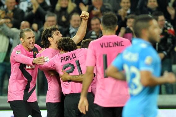 Juventus zit AC Milan op de hielen