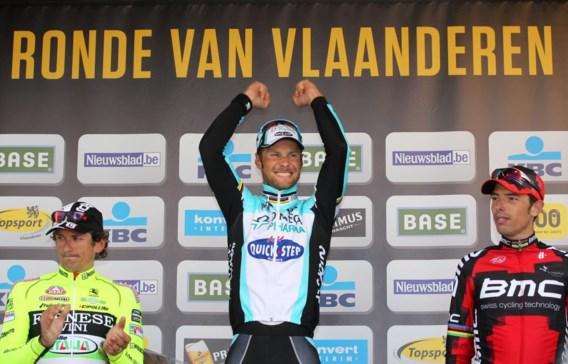 Boonen wint Ronde van Vlaanderen: 'Ben blijven bijten tot ik dood ging'