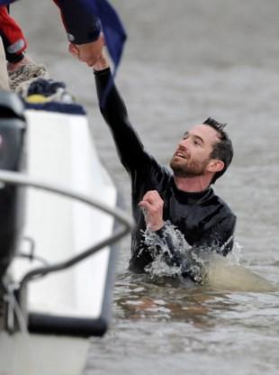 Zwemmer Boat Race protesteerde tegen elitisme