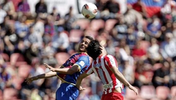 Courtois en Atletico verliezen terrein
