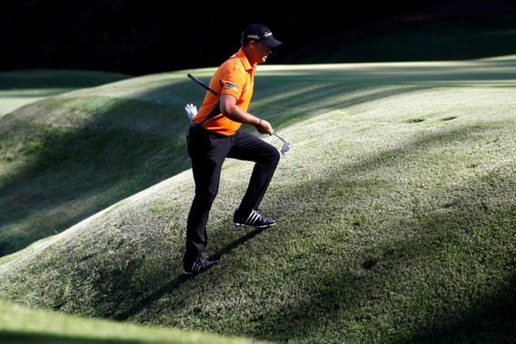 Zweed Hanson leidt in Masters golf