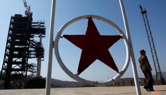 Noord-Koreaanse raket staat klaar