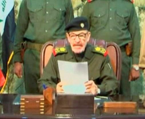 Rechterhand van Saddam duikt op in video