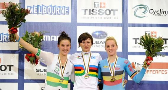Australië eerste in medailleklassement WK baanwielrennen, België zevende
