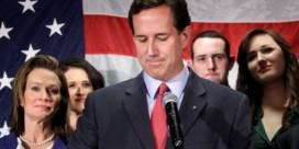 Rick Santorum stapt uit presidentsrace