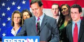 Santorum maakt weg vrij voor Romney