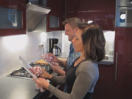 VIDEO. Peeters & Pichal fitnessen met Paula Semer
