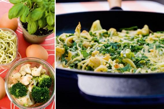 Frittata met pasta