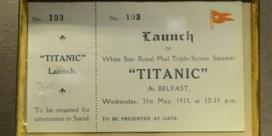 FOTOSPECIAL. Toegangsbewijs Titanic levert 43.000 euro op