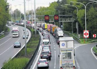 Na al reikt de file richting Antwerpen tot in Grobbendonk. mph