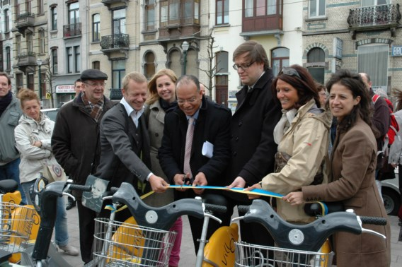 Villo-fietsen veel minder vaak gestolen
