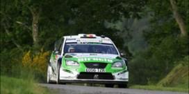 Pieter Tsjoen domineert ook in rally Wallonië