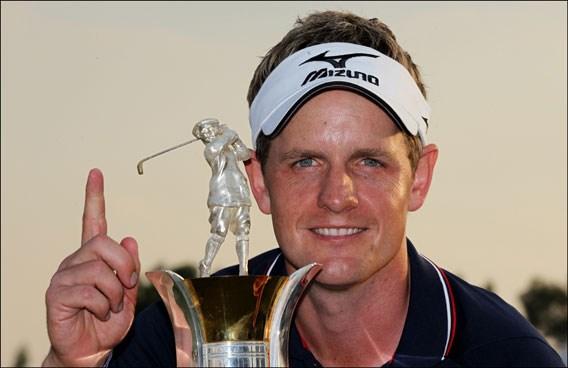 Luke Donald herovert eerste plaats op wereldranglijst golf, Colsaerts 34e
