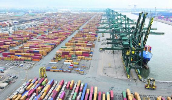 Een deel van de Belgische export gaat naar landen waar de economie stevig groeit.Wim Robberechts/photo news