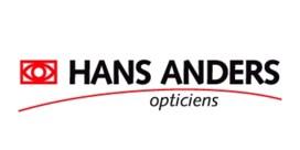 Brillenketen Hans Anders staat in de etalage