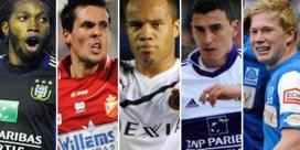 'Profvoetballer van het Jaar': wordt het De Bruyne, Mbokani, Vadis, Perbet of Suarez?