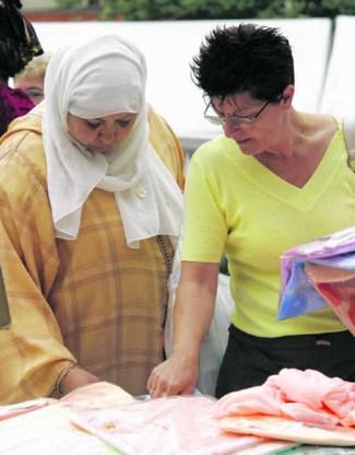 Ook Wallonië en Brussel (foto: Anneessensmarkt) krijgen inburgeringscursussen voor nieuwkomers.photo news