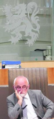 Jan Peumans (N-VA) leidde de loonwerkgroep. Julien Warnand/ig
