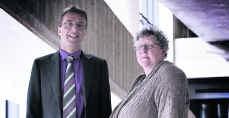 Chris Smits en Mieke Van Hecke van het katholieke net: 'Een hervorming is nodig, maar ook een mentaliteitswijziging.'Geertje De Waegeneer