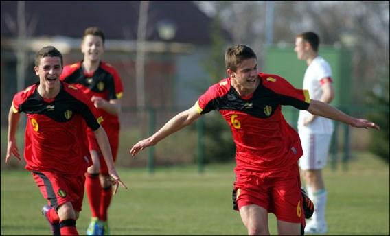 België ondanks zege niet naar halve finales EK voetbal -17