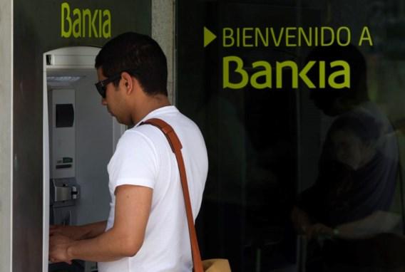 Aandeel Bankia tijdelijk geschorst op beurs Madrid