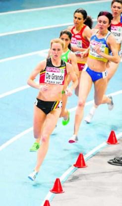 Lindsey De Grande begin 2011: Europese top, de Spelen wenkten. pn