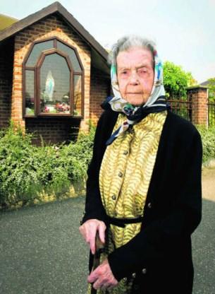 'Ik heb een mooi leven gehad', zegt Fanny Godin, die zondag 110 wordt. pdw