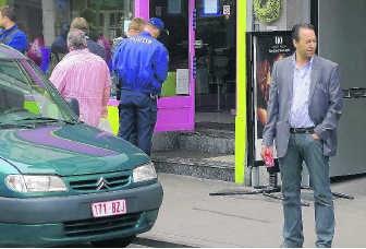 Onder meer Resto Abely in de Zwevegemsestraat werd verzegeld.vkk