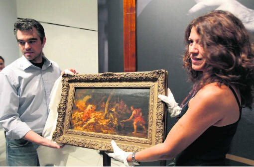 Op 8 september vorig jaar werd het teruggevonden schilderij tijdens een persconferentie getoond in de National Gallery in Athene. belga